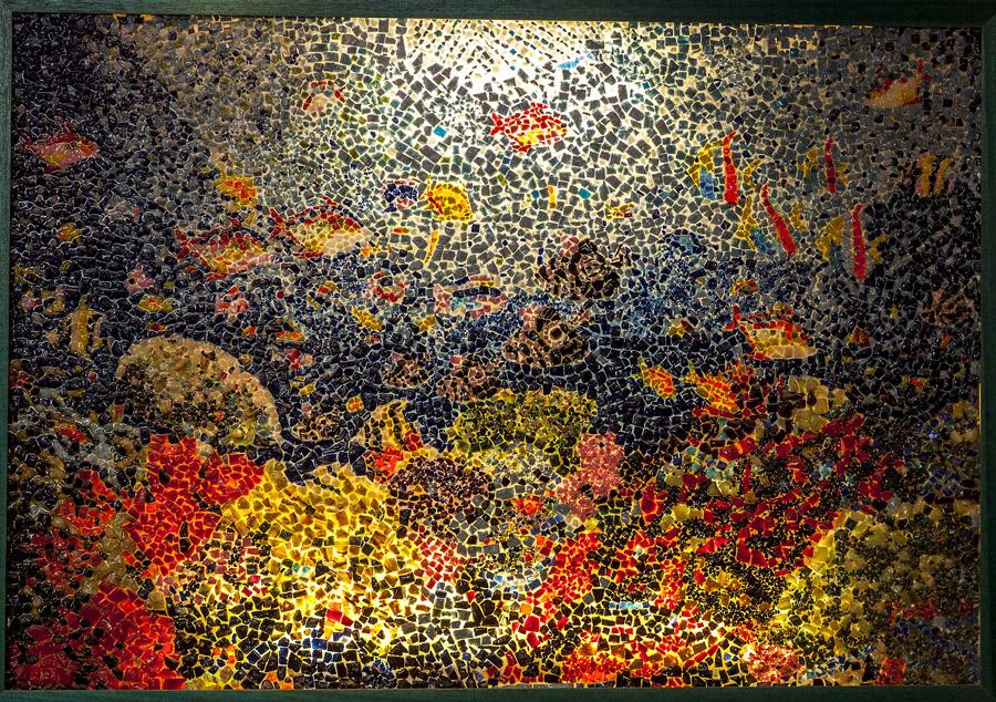 Mosaici marmo quadri artistici fatti a mano il mosaico for Mosaico arredamenti